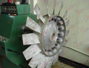 Fabricación de ventiladores axiales con aleta variable en aluminio