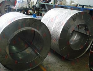 Mantenimiento y reparación de canastas centrifugas