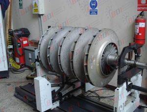 Conjunto soplador de aluminio