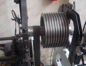 Fabricación y balanceo de poleas