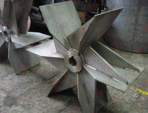 Impulsores fabricados en acero inox 304