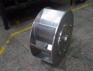 Fabricación de ventilador en acero inoxidable