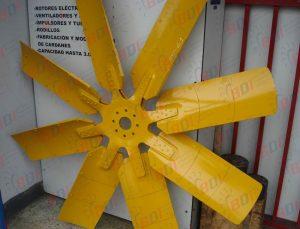 Reparación de ventilador para motor Komatsu HD1500