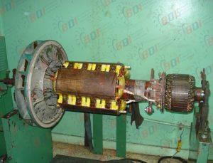 Rotor de generador eléctrico de 500 kw