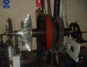Balanceo rotor de turbo