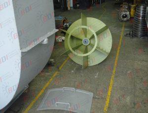 Fabricación de ventilador para horno de ladrillera