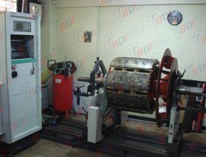 Balanceo Rotor de generedor 1800 kg