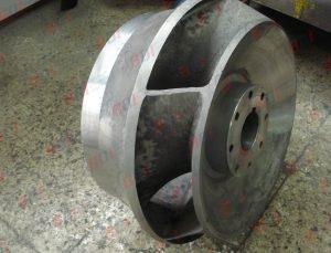 Fabricación de impulsor en acero inoxidable