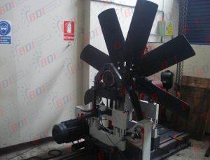 Balanceo de ventilador para motor Komatsu