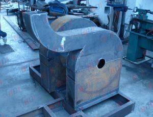 Fabricación de carcasa de molino