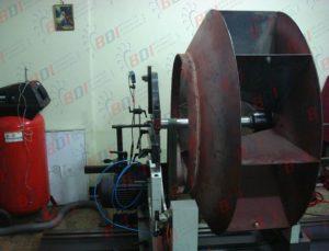Balanceo de ventilador Ø1400 x 650 mm