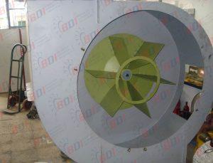 Fabricación de ventilador para horno ladrillero