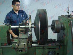Fabricación y maquinado de ventiladores
