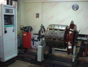 Balanceo de generador 1800 kg