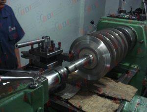 Maquinado de rotor de molino