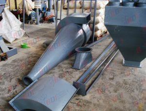 Fabricación de filtro de mangas