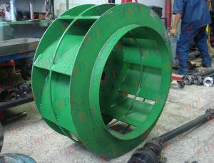 Fabricación de extractor para aserradero