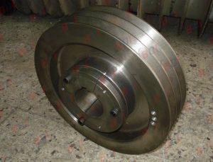 Fabricación de poleas en fundición gris