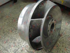 Maquinado de impulsor en acero inoxidable
