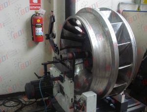 Turbina hidraulica Ø1100 y 950 kg